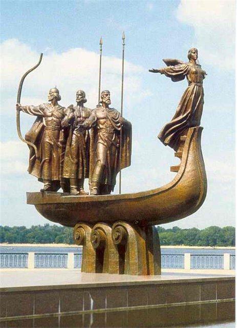 Где находятся достопримечательности в Киеве?
