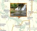 Джуринский (Червоноградский) водопад