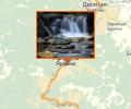Водопад Пробий (Пробой) на р. Прут