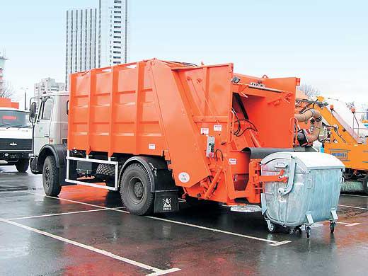 Куда обратиться для вывоза мусора в Киеве?