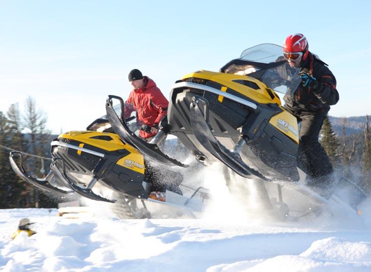 Где покататься на снегоходах в Киеве?