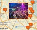 Где находятся ночные клубы в Киеве?